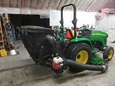 """John Deere 72"""" centre-mount mowing deck with blower and bagger 6' hydraulic dump"""