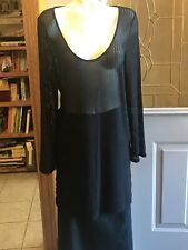 24th and Ocean Women's Swimsuit Cover Up Size xLarge XL Mesh Long Sleeves Dress