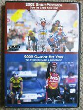 2002 Omloop Het Volk/Ghent Wevelgem World Cycling Productions 2 DVD Very Clean