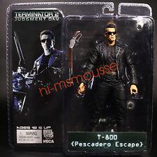 """NECA Terminator 2 Judgment Day T-800 Pescadero Escape Arnold 7"""" Action Figure"""