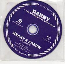 (EJ145) Danny & The Champions of the World, Heart & Arrow - 2011 DJ CD