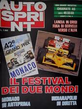 Autosprint 22 1984 Poster GP Francia - Lauda - Tambay. Ayrton Senna. sc.5