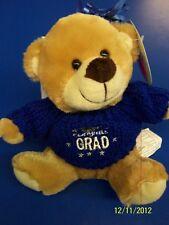 Grad Bear Balloon Bouquet Graduation Party Gift Stuffed Animal Teddy - Blue