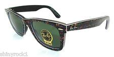 Authentic RAY-BAN Wayfarer Limited Edition TYPADELIC Sunglass 2140 - 1089 *NEW*