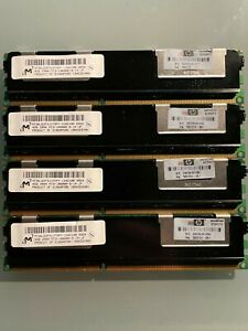 MICRON HP 16GB (4X4GB) PC3-10600R 2Rx4 DDR3 ECC REG SERVER RAM MT36JSZF51272PY