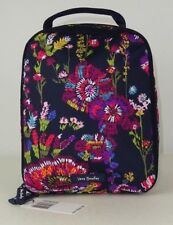 NWT Vera Bradley Lighten Up Lunch Bunch MIDNIGHT WILDFLOWERS Bag Sack School