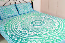 Indian Mandala Wall Hanging Bedding Bed Cover Hippie Bohemian Twin Size Bedsheet