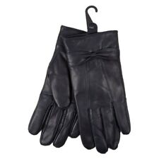 Ladies Sheepskin Soft Supple Stylish Leather Gloves Lined with Warm Fleece