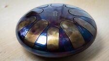 Tank drum steel tongue handpan, Е minor ,30cm 4 kg, 10 notes ethno folk