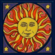 Mexican Design Sun Moon Decorative Ceramic Kitchen Wall tiles 2 sizes,3 designs