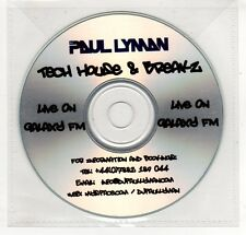 (GP440) Paul Lyman, Tech House & Breakz - 8 Tracks - DJ CD
