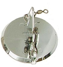 "NEW Luhr Jensen Dipsy Diver 3-1/4"" Silver/Silver Bottom 5560-000-0920"