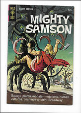 """MIGHTY SAMSOM #11  [1967 GD-VG]  """"THE SWAMP RATS"""""""