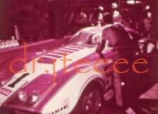 1970 SEBRING Tony DeLorenzo CORVETTE - 16mm Racing Film Strip