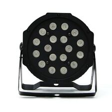 54W 18x LED PAR64 RGB PAR CAN WASH Light DMX Stage Lighting Disco DJ Party