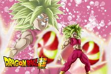 Dragon Ball Poster Kefla Ready to Fire W/logo 12inx18in Free Shipping