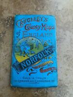 cruchley's county maps of england - norfolk