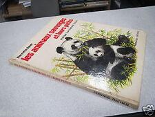 LES ANIMAUX SAUVAGES ET LEURS PETITS PIERRETTE BAUER 1974 panda asie amerique *
