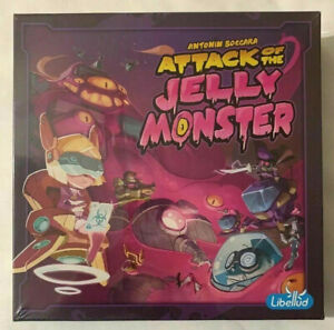 NEW ATTACK OF THE JELLY MONSTER LIBELLUD STRATEGY BOARD GAME ANTONIN BOCCARA NIB