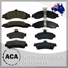 Full Set of Premium Front 1331 Rear 1332 Brake Pads for Holden Commodore Caprice