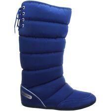 Adidas Damen Winterstiefel blau Northern Boot W Schnee Fell warm Keilabsatz OVP