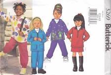 Butterick Child's Pants Sewing Patterns