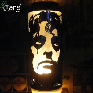 Alice Cooper Beer Can Lantern! Pop Art Candle Lamp, Horror, Unique Gift