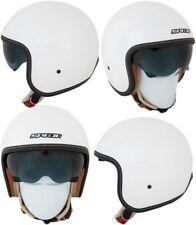 Spada RAZE innere Sonnenblende Offenes Gesicht Roller Motorrad Helm-Pearl White