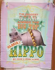 Madagascar 3 Gloria the Hippo Quilt Panel + Coordinating Fabric