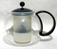 Bodum Assam Tea Press w/ Infuser Glass Teapot, 4 Cup / 32 Ounce