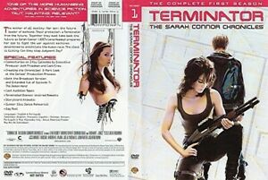 Terminator:  The Sarah Connor Chronicles Season 1 and 2...Fast Shipping!!!