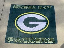 "New listing GREEN BAY PACKERS BANNER FLAG NFL NATIONAL FOOTBALL LEAGUE 50"" X 60"" NEW NIP"