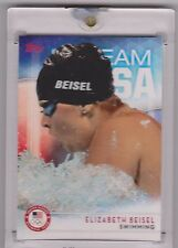 RAREST 2016 TOPPS OLYMPIC ELIZABETH BEISEL 1/1 CARD ~ USA SWIMMING FAVORITE