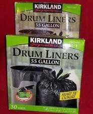 Kirkland Signature 55 gallon drum liners (50)liners per box