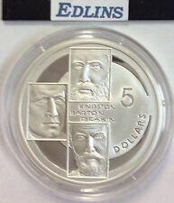 2001 $5 silver coin Kingston,Barton deakin  - ex masterpieces set