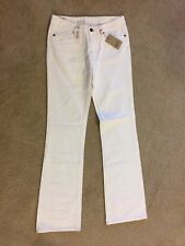 NWT White LONDON PEPE JEANS womens Jeans long inseam 34