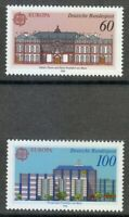 Germany 1990 MNH Mi 1461-1462 Sc 1601-1602 Post offices in Frankfurt am Main **