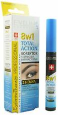 Eveline 8in1 Total Action Eyebrow Corrector Gradually Colouring with Henna 10ml