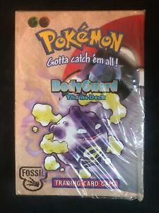 Pokemon Cards: Sealed Fossil Bodyguard Deck
