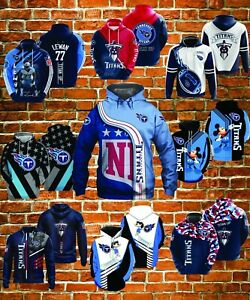 Tennessee Titans - NFL Football Fan - Football Sports - All over Printed Hoodie