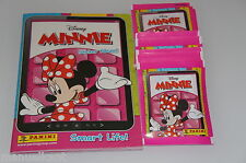 ALBUM FIGURINE PANINI DISNEY MINNIE  + 50 BUSTINE SIGILLATE 250 STICKERS
