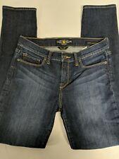 Lucky Brand Womens Sofia Skinny Size 8/29 Regular Dark Wash Mid Rise
