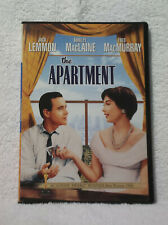 The Apartment on Dvd (Shirley MacLaine and Jack Lemmon)