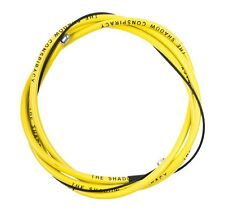 SHADOW CONSPIRACY LINEAR BRAKE CABLE BMX BICYCLE FIT KINK SUBROSA CULT SE YELLOW