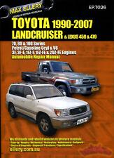 SHOP MANUAL SERVICE REPAIR BOOK LANDCRUISER TOYOTA LX450 LX470 LEXUS GUIDE 90-07