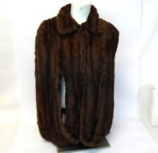 "Vintage 1940 Sheridans Quincys Soft Authentic Mink 27"" Bolero Cape Jacket Shrug"