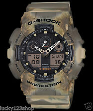 Ga-100mm-5a Marron G-Choc Casio hommes Montres 200 M Resin Band brand-new Limited