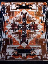 VERY RARE AVANTGARDE BAUHAUS 1925 WALL CARPET ART DECO CANVAS CUBIST