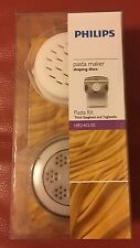 Philips HR2402/05 Thick Spaghetti and Tagliatelle Pasta Disc Kit, White