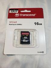 Transcend Ultimate 16GB 600x - SDHC UHS-I Card - Retail - TS16GSDHC10U1